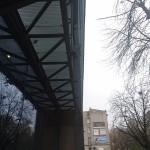 pomosty techniczne na budowie Comarch w Łodzi